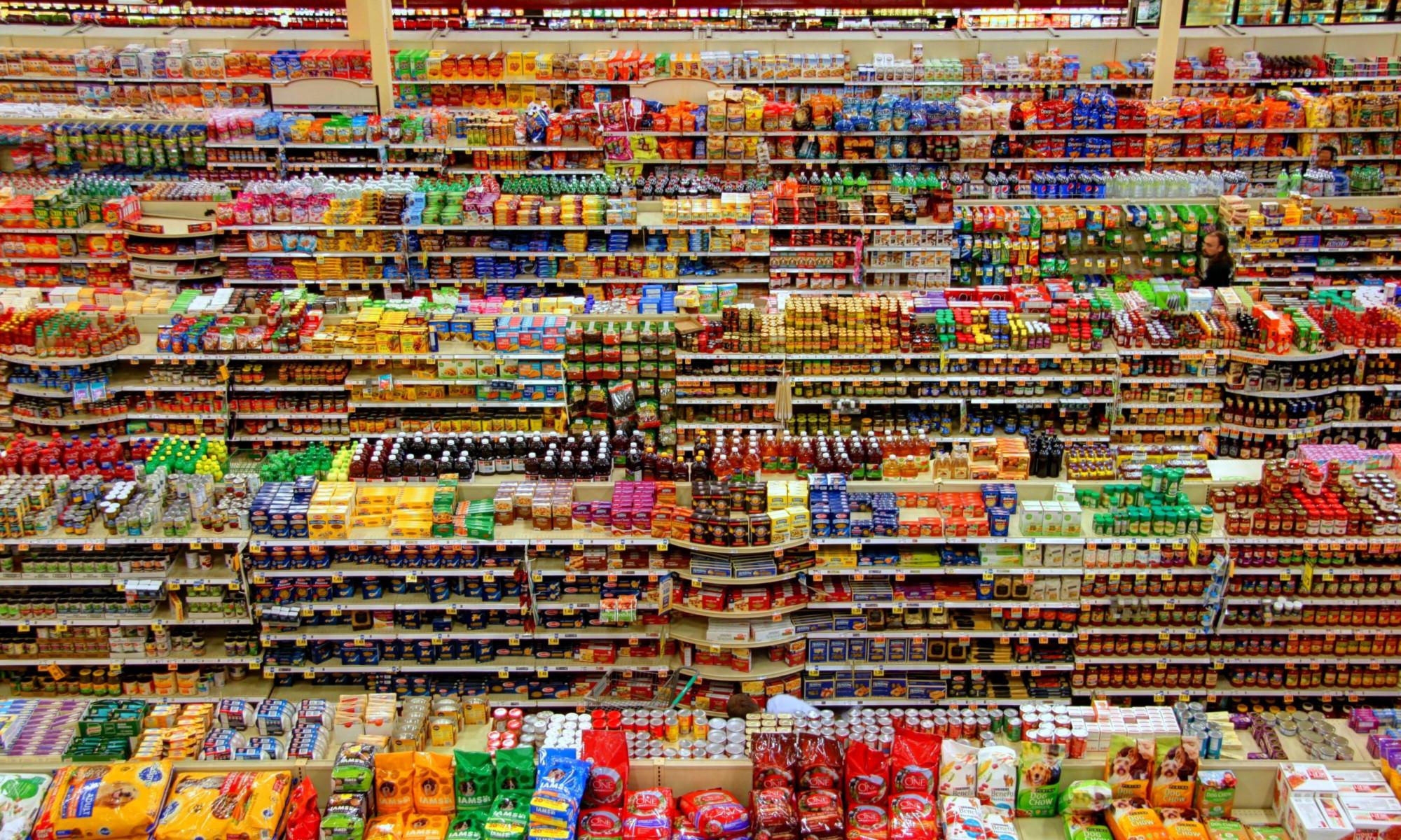 Süßigkeiten, Supermarkt