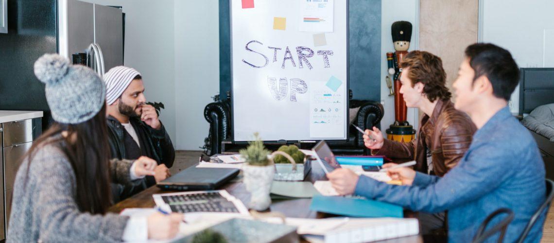 Beratung in einem Startup